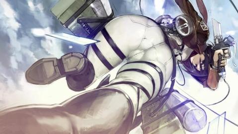 【進撃の巨人】ミカサの二次エロ画像③ 100枚-077