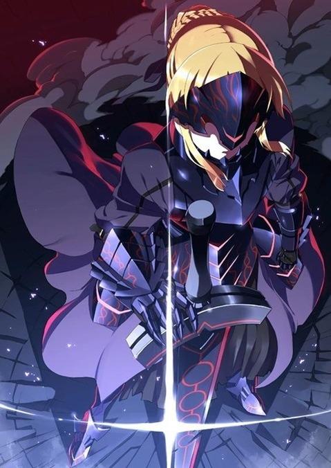 【Fate】セイバーの二次エロ画⑤ 100枚-075