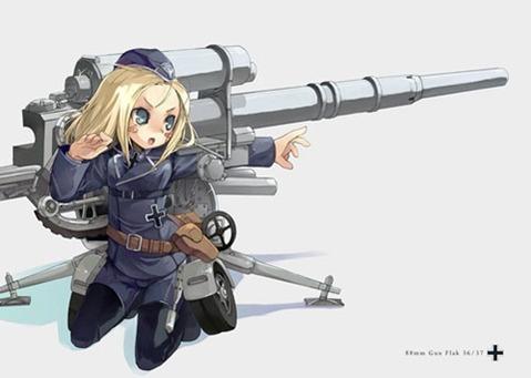 軍服を着た女の子の二次エロ画像 075