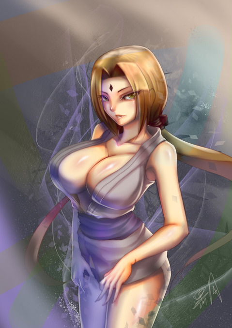 【NARUTO】綱手のエロ画像 100枚₋002