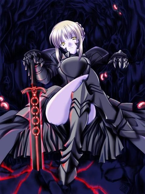 【Fate】セイバーの二次エロ画⑤ 100枚-065