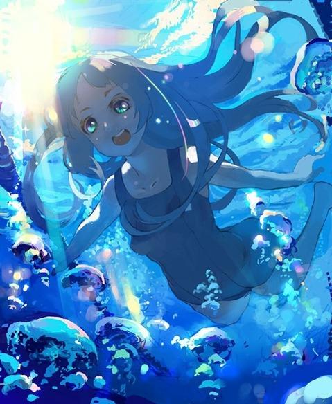 スク水を着てる可愛い女の子の二次エロ画像② 100枚-057