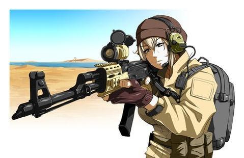 軍服を着た女の子の二次エロ画像 140