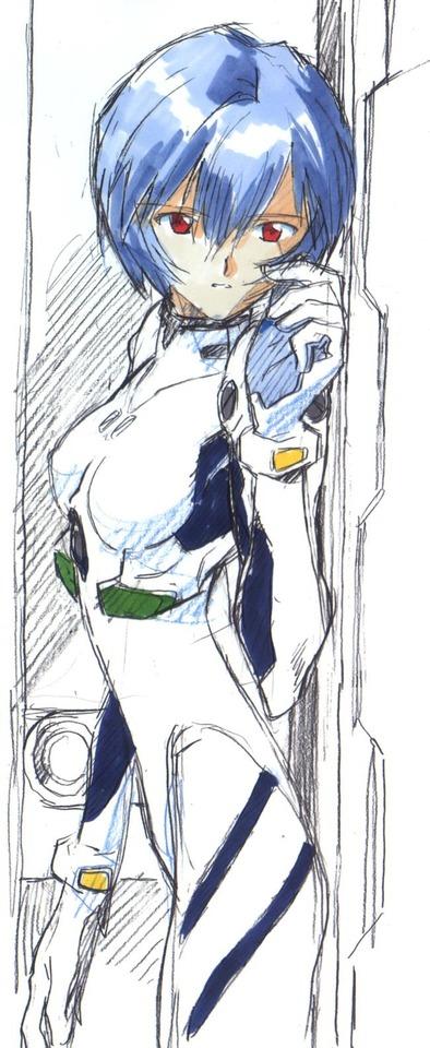 【エヴァ】綾波レイの二次エロ画像 100枚17