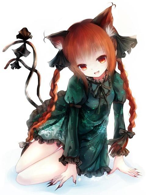 猫耳が可愛い女の子の二次エロ画像⑤ 100枚-025