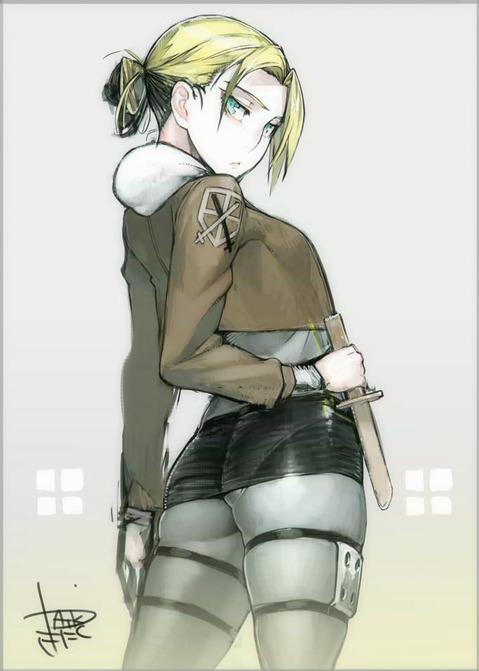 【進撃の巨人】アニの二次エロ画像 100枚-049