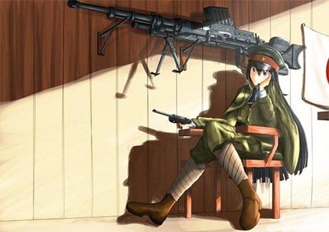 軍服を着た女の子の二次エロ画像 160