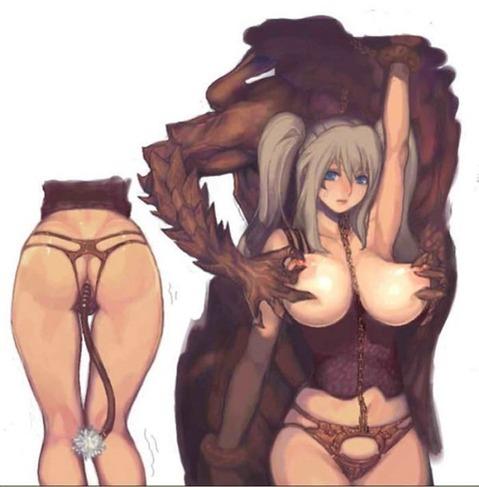 アナルから尻尾の生えた女の子の二次エロ画像① 100枚-098