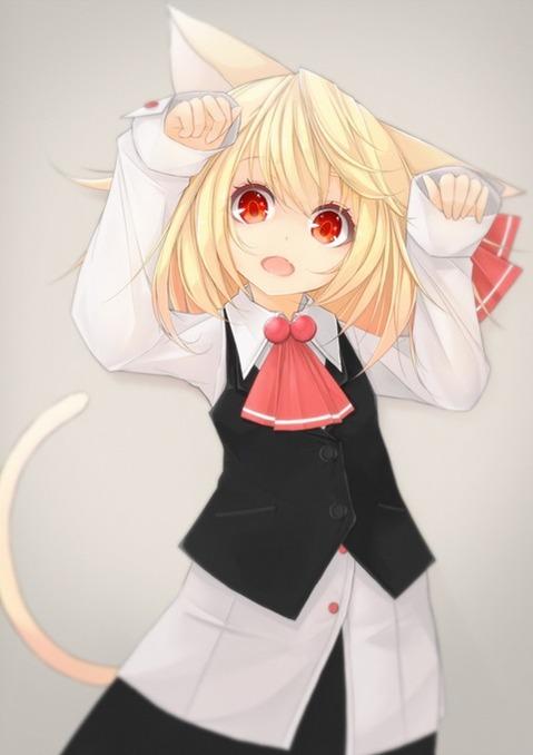 猫耳が可愛い女の子の二次エロ画像④ 100枚-042