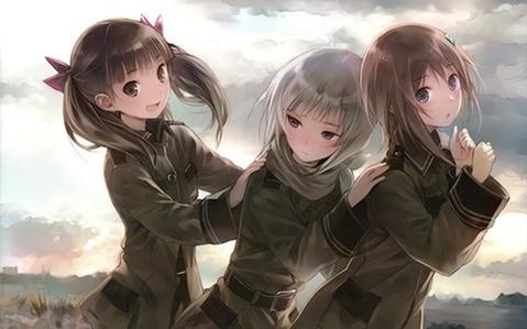 軍服を着た女の子の二次エロ画像 216