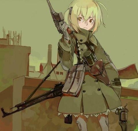 軍服を着た女の子の二次エロ画像 137