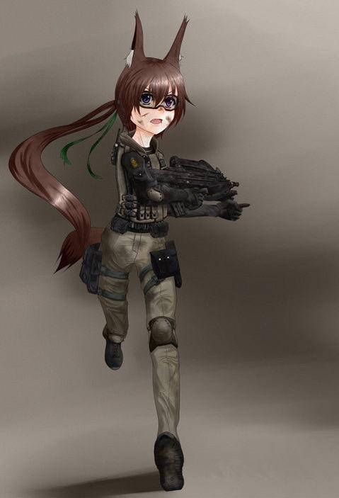 軍服を着た女の子の二次エロ画像 185