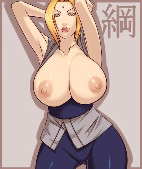 【NARUTO】綱手のエロ画像 100枚₋097
