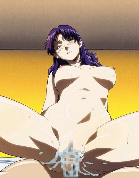 【エヴァ】葛城ミサトのエロ画像 50枚₋042