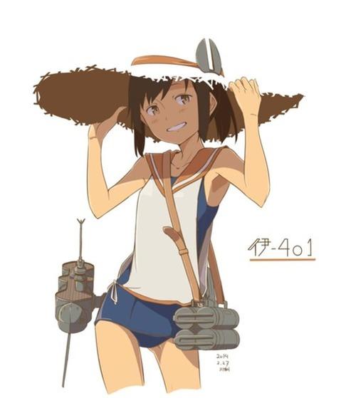 【艦これ】伊401の二次エロ② 50枚-014