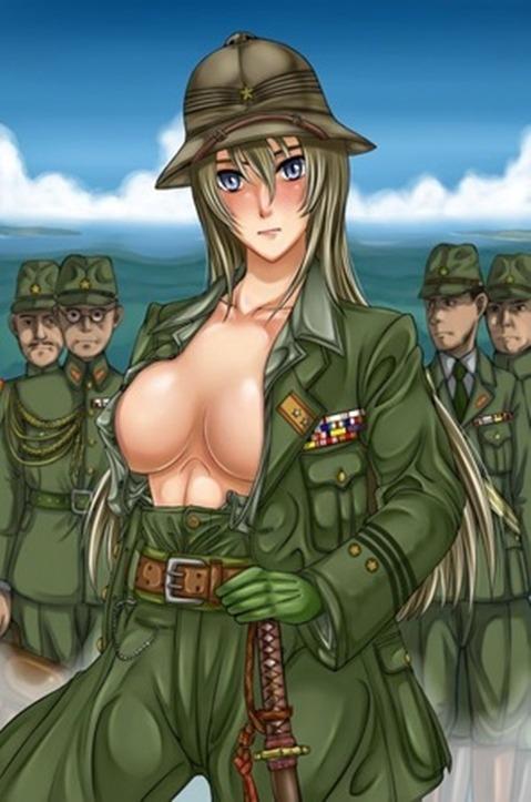 軍服を着た女の子の二次エロ画像 197