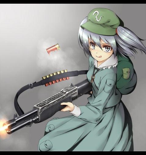 軍服を着た女の子の二次エロ画像 157