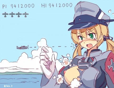 【艦これ】プリンツ・オイゲンの二次エロ画像② 100枚-008