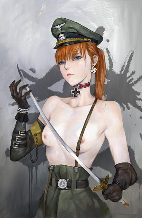 軍服を着た女の子の二次エロ画像 230