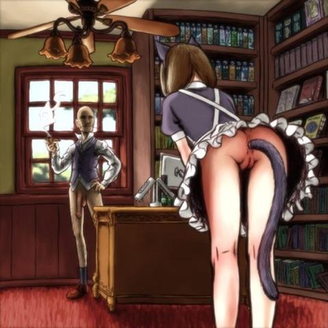 アナルから尻尾の生えた女の子の二次エロ画像① 100枚-085