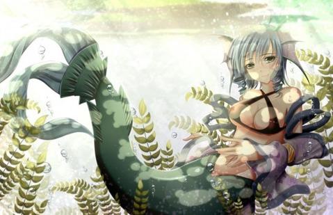 【東方】わかさぎ姫の二次エロ画像② 50枚-047