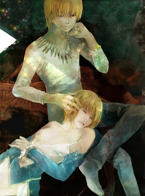 【Fate】セイバーの二次エロ画③ 100枚-078