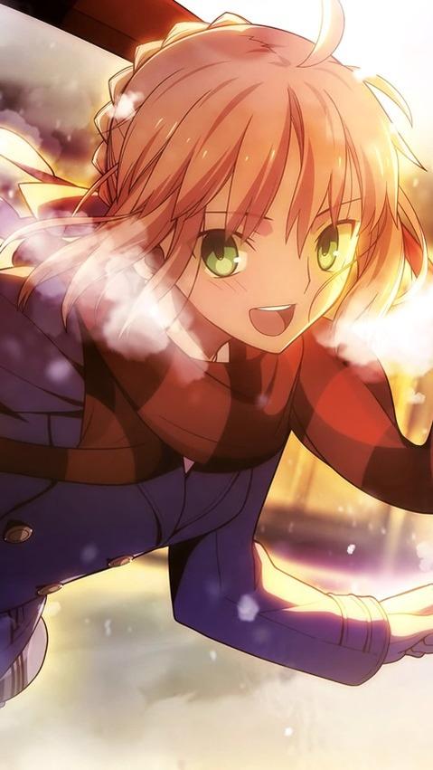 【Fate】セイバーの二次エロ画⑤ 100枚-013