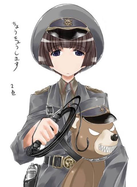 軍服を着た女の子の二次エロ画像 078