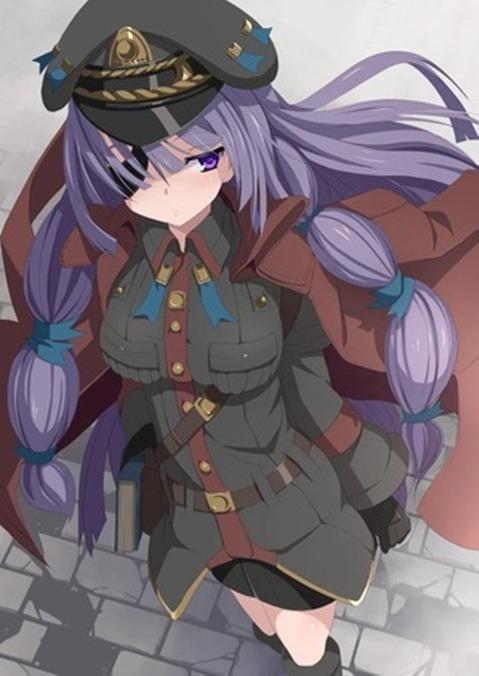 軍服を着た女の子の二次エロ画像 201