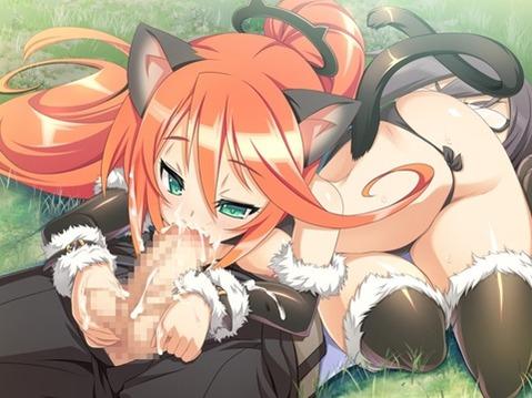 猫耳が可愛い女の子の二次エロ画像② 100枚-031