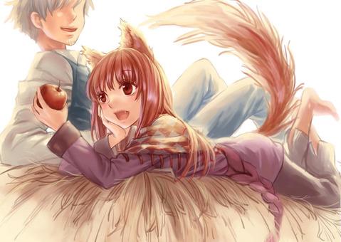 【狼と香辛料】ホロの二次エロ画像② 100枚-030