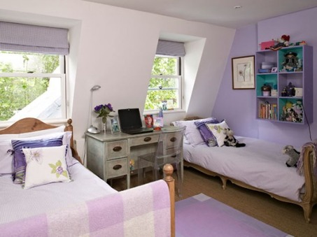 pretty-purple-shared-kids-room-554x415
