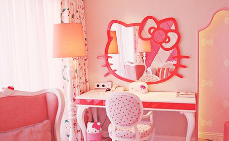 hello-kitty-bedroom