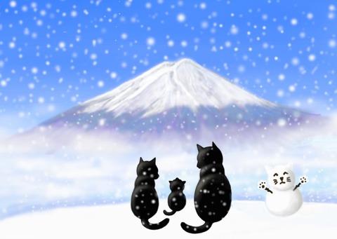 富士山11月