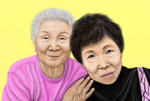 川崎オバサンとお母さん333