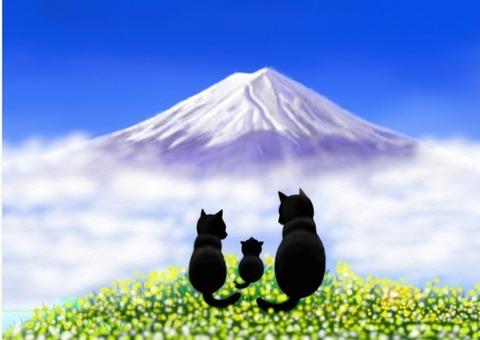 青空富士山10月23 (2)