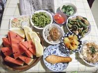 8月3日(金)夕食