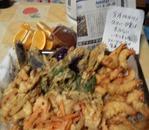 夕飯に天ぷら作りました。