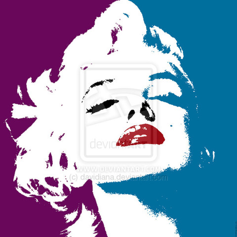 Marilyn_Monroe___Pop_Art_by_davidiana