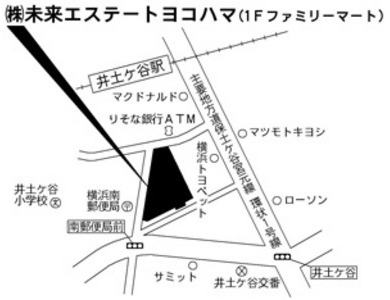 未来エステートヨコハマ地図