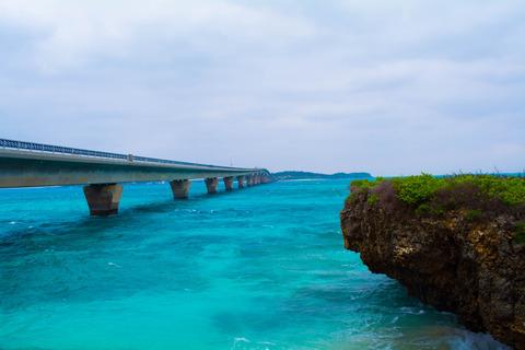 池間島でハート岩を見て、帰りに激安海鮮丼を食べて帰ってきた