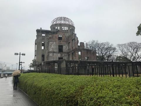 2018冬 男の広島一人旅⑥原爆ドームと広島つけ麺