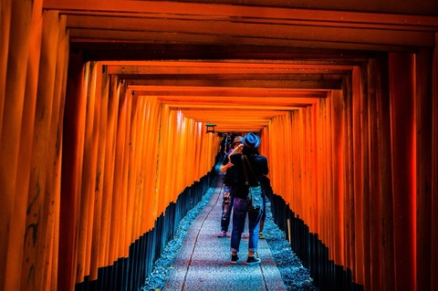 『フォトジェニックな京都』について書こうとして、自分が神だと気付いたのだ