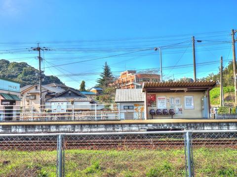岩屋駅HDR