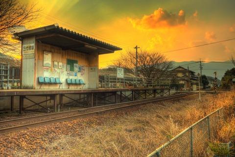 三代橋駅HDR1