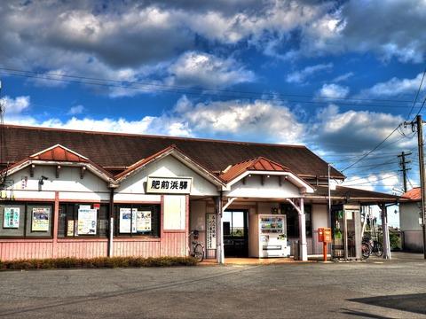 肥前浜駅HDR