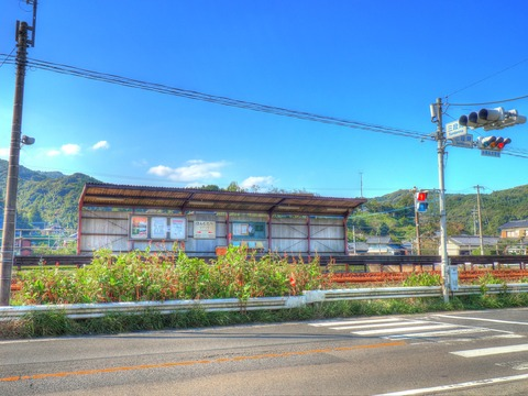 本牟田部駅HDR