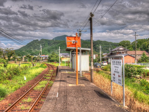 桃川駅HDR
