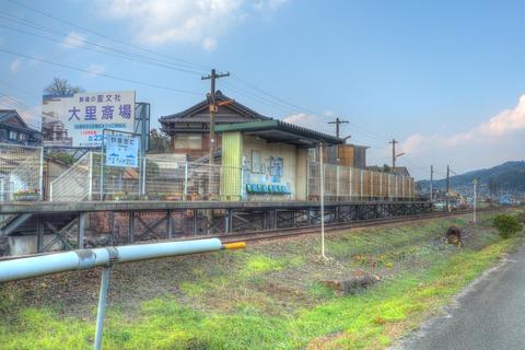 山谷駅HDR