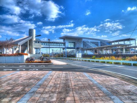 吉野ケ里公園駅HDR2
